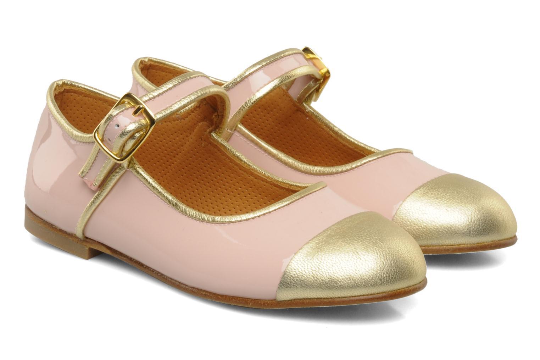 Petite borali Patent Make Up/Mettalic Gold
