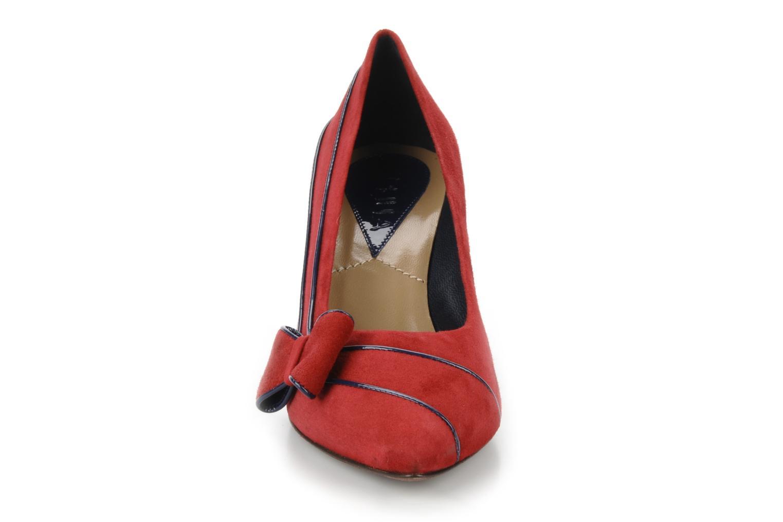 Escarpins C.Petula Lily Rouge vue portées chaussures