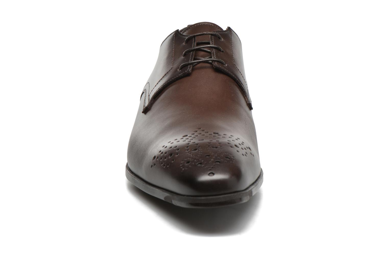 Lace-up shoes Santoni Marlone 11020 Brown model view