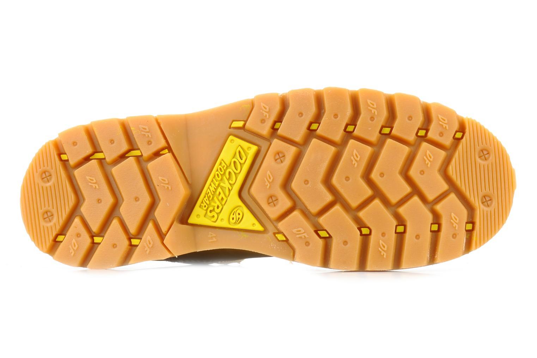 Stiefeletten & Boots Dockers Looka gelb ansicht von oben