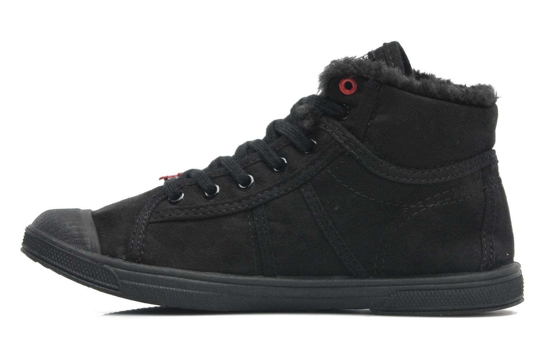 Sneakers Le temps des cerises LC Basic 03 Nero immagine frontale