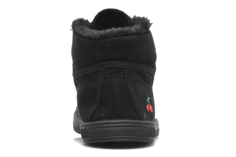 Sneakers Le temps des cerises LC Basic 03 Nero immagine destra