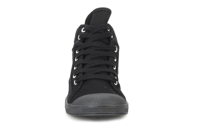 Baskets Le temps des cerises LC Basic 03 Noir vue portées chaussures
