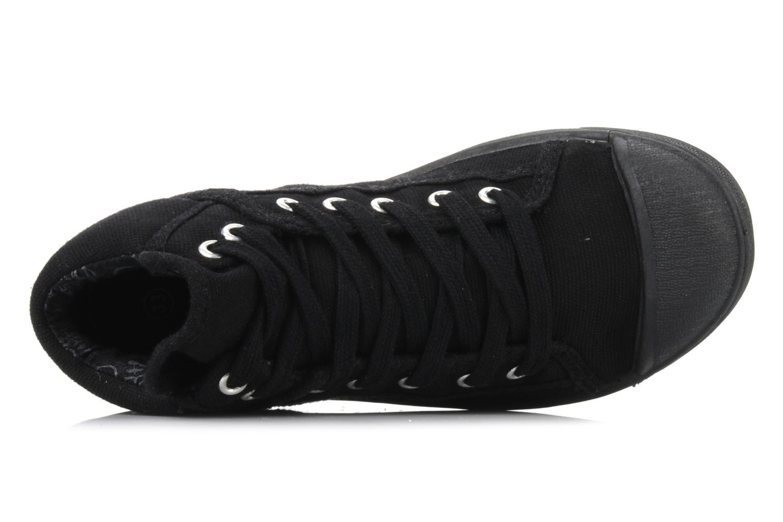 Sneakers Le temps des cerises LC Basic 03 Zwart links