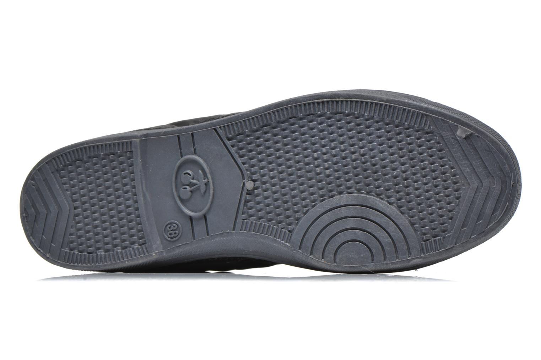 Sneaker Le temps des cerises Basic 03 doune grau ansicht von oben