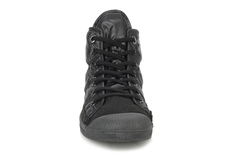 Baskets Le temps des cerises Basic 03 doune Noir vue portées chaussures