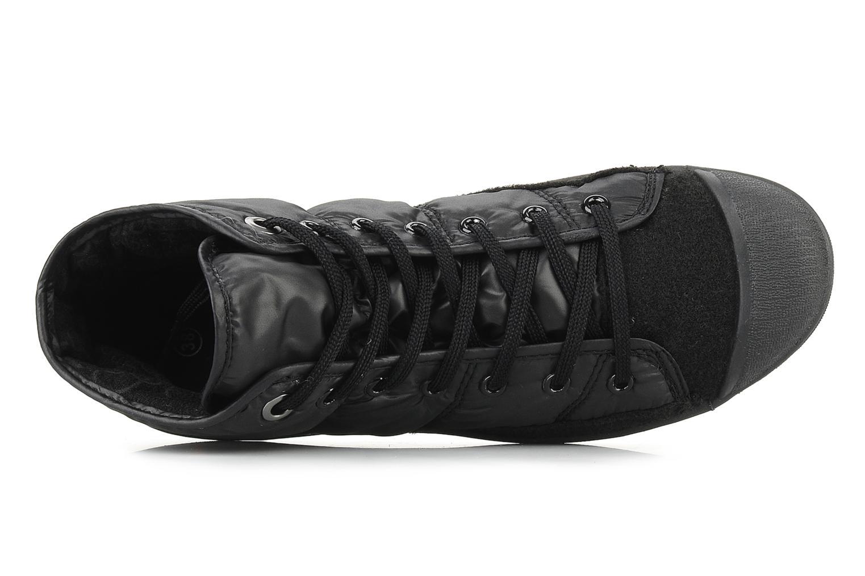 Sneakers Le temps des cerises Basic 03 doune Zwart links