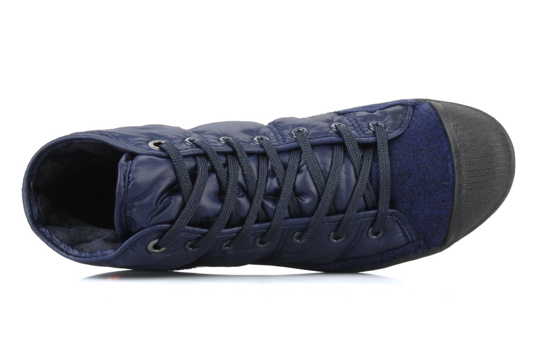 Sneakers Le temps des cerises Basic 03 doune Blauw links