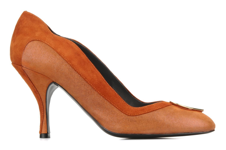 High heels Amelie Pichard Isabella r Brown back view