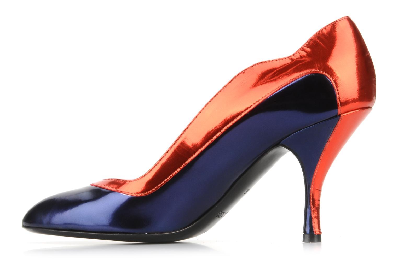 Blondie Blue-red