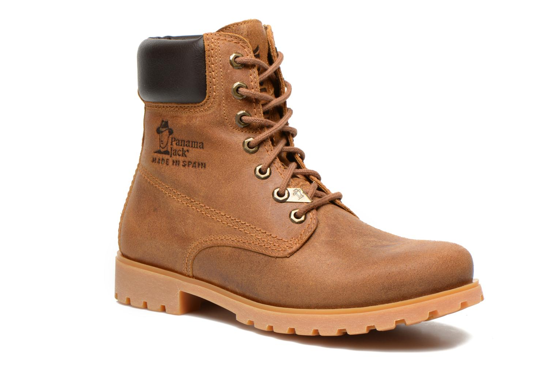 Bottines et boots Panama Jack Panama 03 M Beige vue détail/paire