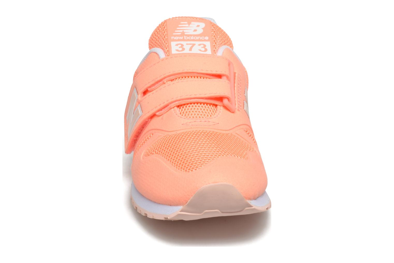 Baskets New Balance Ka373 Orange vue portées chaussures