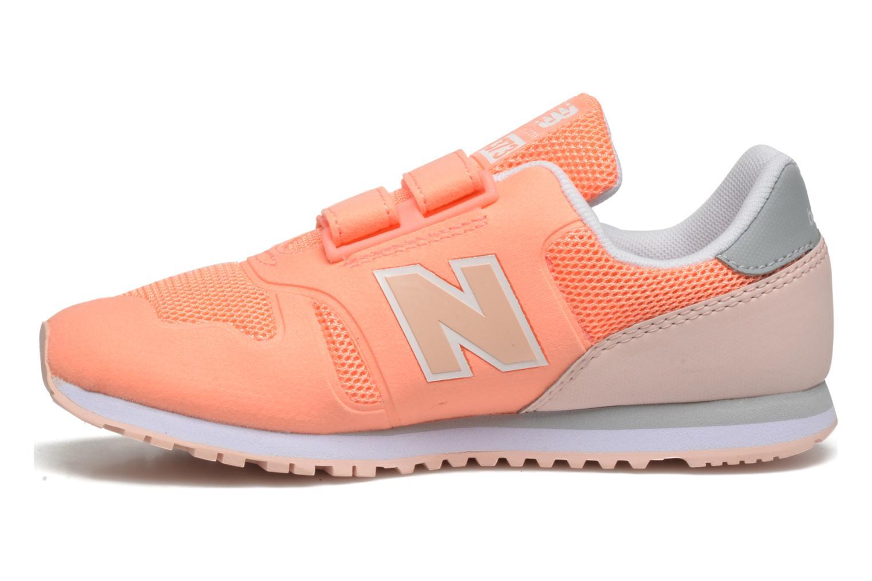 Sneaker New Balance Ka373 orange ansicht von vorne