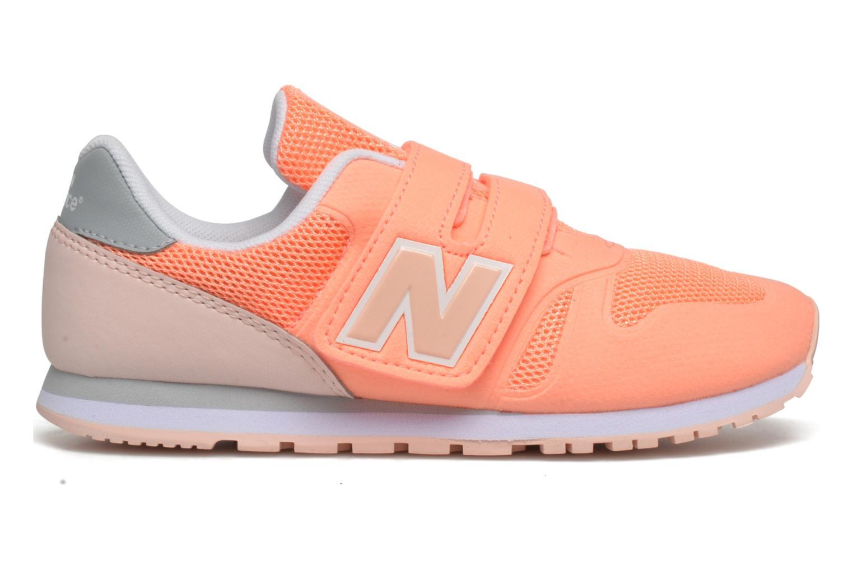 Sneaker New Balance Ka373 orange ansicht von hinten