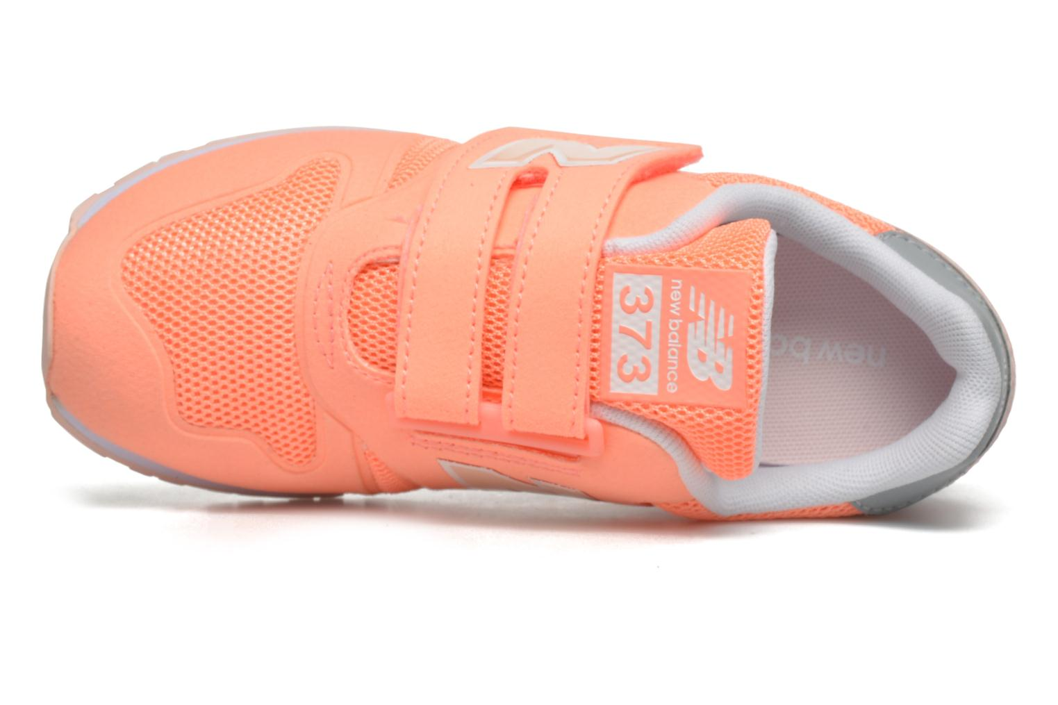 Sneaker New Balance Ka373 orange ansicht von links