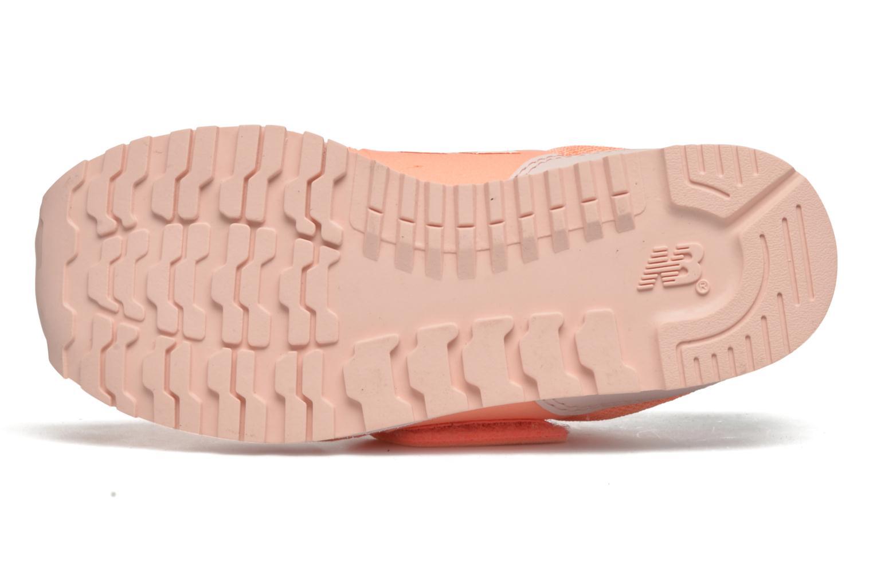 Sneaker New Balance Ka373 orange ansicht von oben