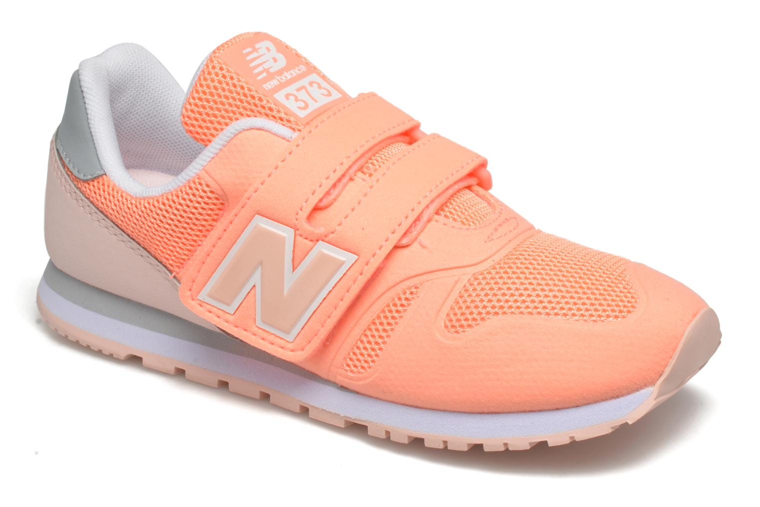Baskets New Balance Ka373 Orange vue détail/paire