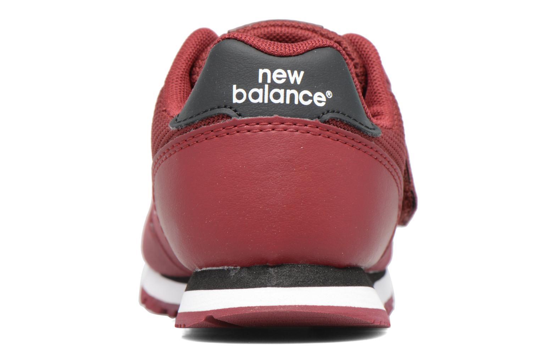 Baskets New Balance Ka373 Bordeaux vue droite