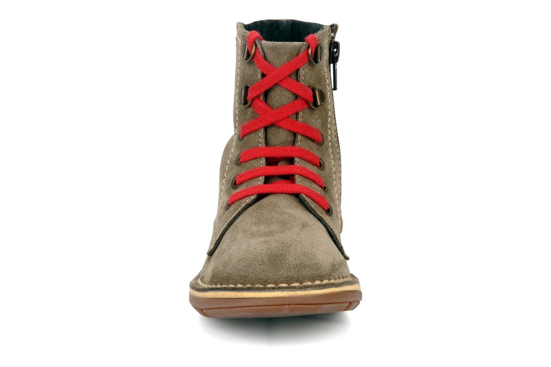 Boots en enkellaarsjes Kickers Kiosk Bruin model