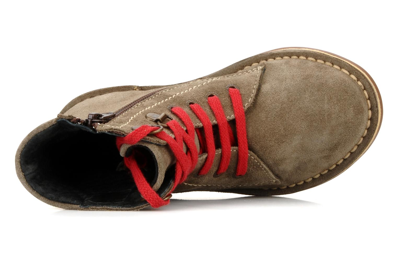 Boots en enkellaarsjes Kickers Kiosk Bruin links