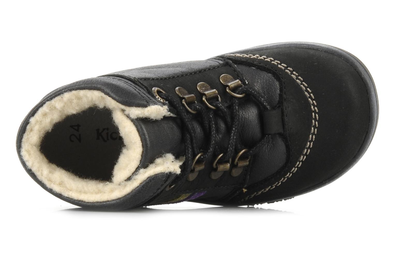 Bottines et boots Kickers Tao Noir vue gauche