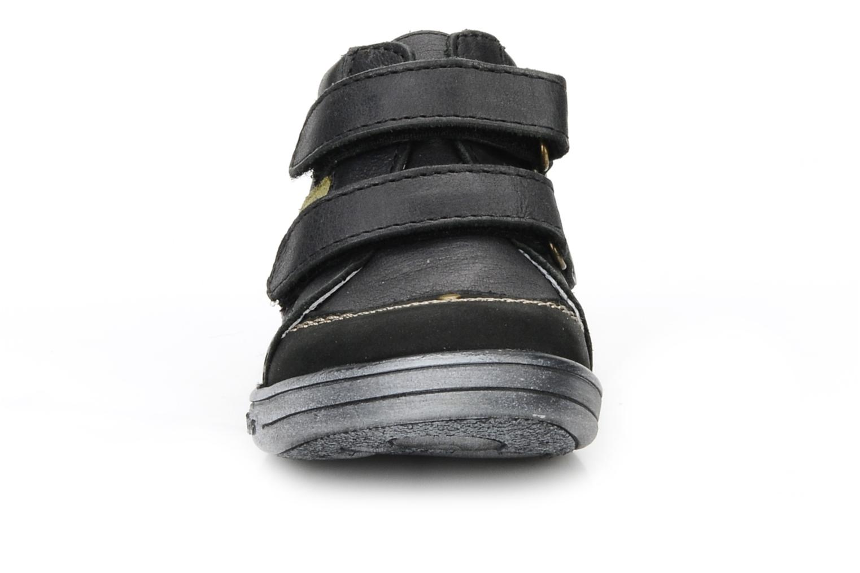mit Klettverschluss Kickers Taylor schwarz schuhe getragen