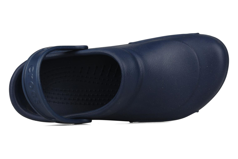 Sandales et nu-pieds Crocs Bistro m Bleu vue gauche