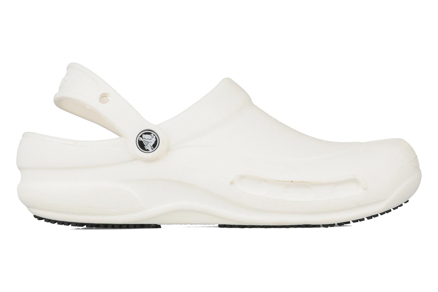 Sandals Crocs Bistro m White back view