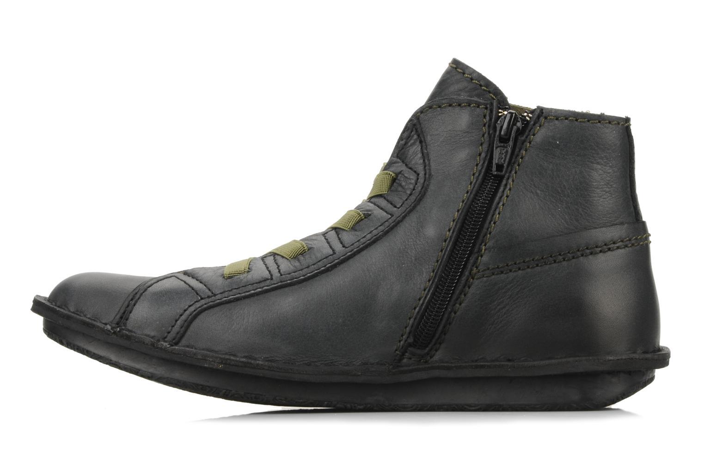 Boots en enkellaarsjes Kickers Watcha Zwart voorkant
