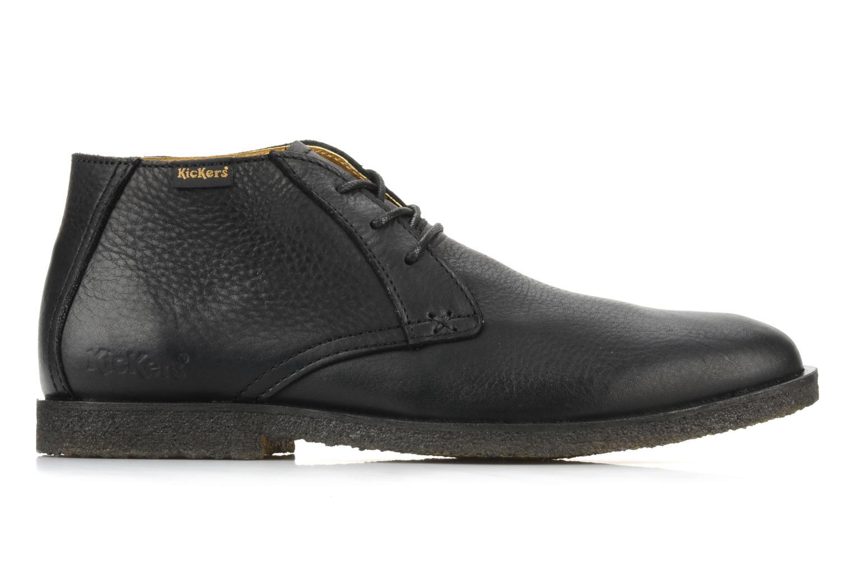 Chaussures à lacets Kickers Jazzy Noir vue derrière