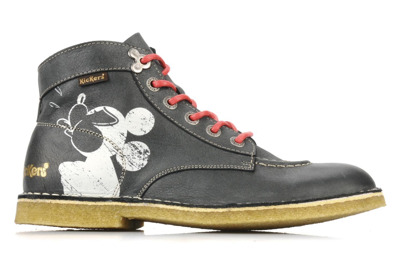 Bottines et boots Kickers Legend mickey Gris vue derrière