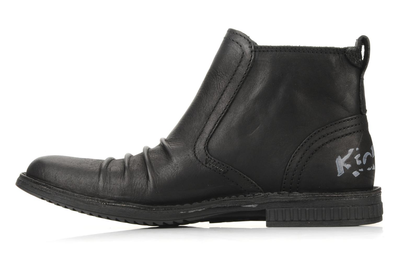 Bottines et boots Kickers Jesoif Noir vue face