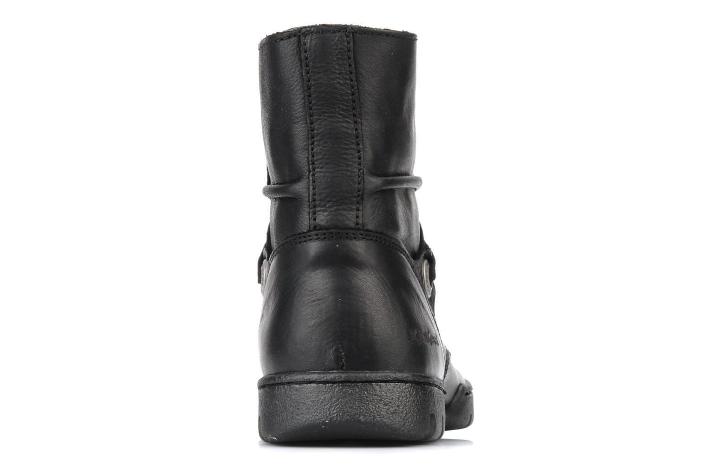 Bottines et boots Kickers Docklands Noir vue droite