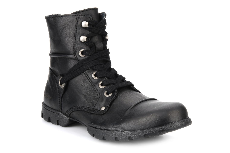 Bottines et boots Kickers Docklands Noir vue détail/paire