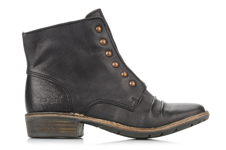 Bottines et boots Kickers Georges Noir vue derrière