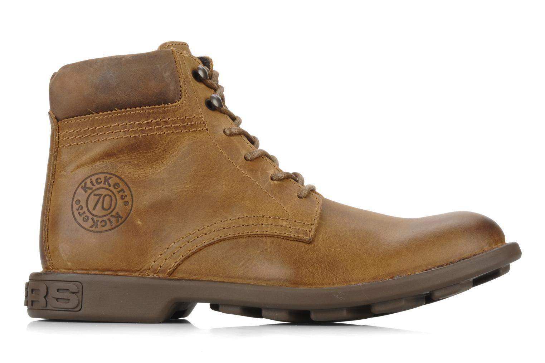Bottines et boots Kickers Koloc Marron vue derrière