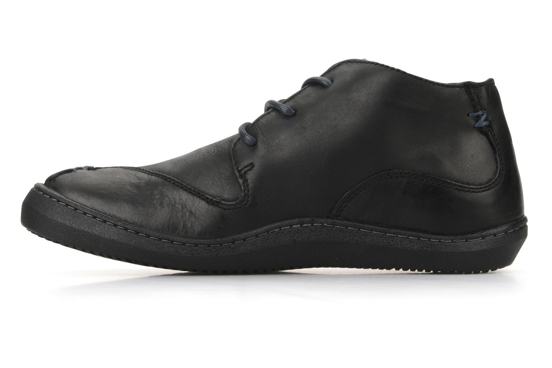 Chaussures à lacets Kickers Bingo Noir vue face