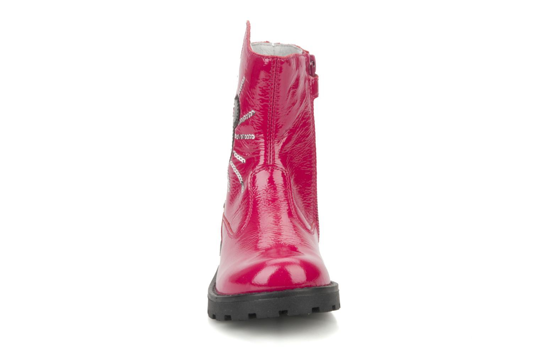 Bottines et boots Disney by Naturino Disney 758 Rose vue portées chaussures