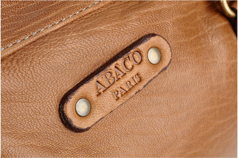Bolsos de mano Abaco Tiffany Marrón vista lateral izquierda