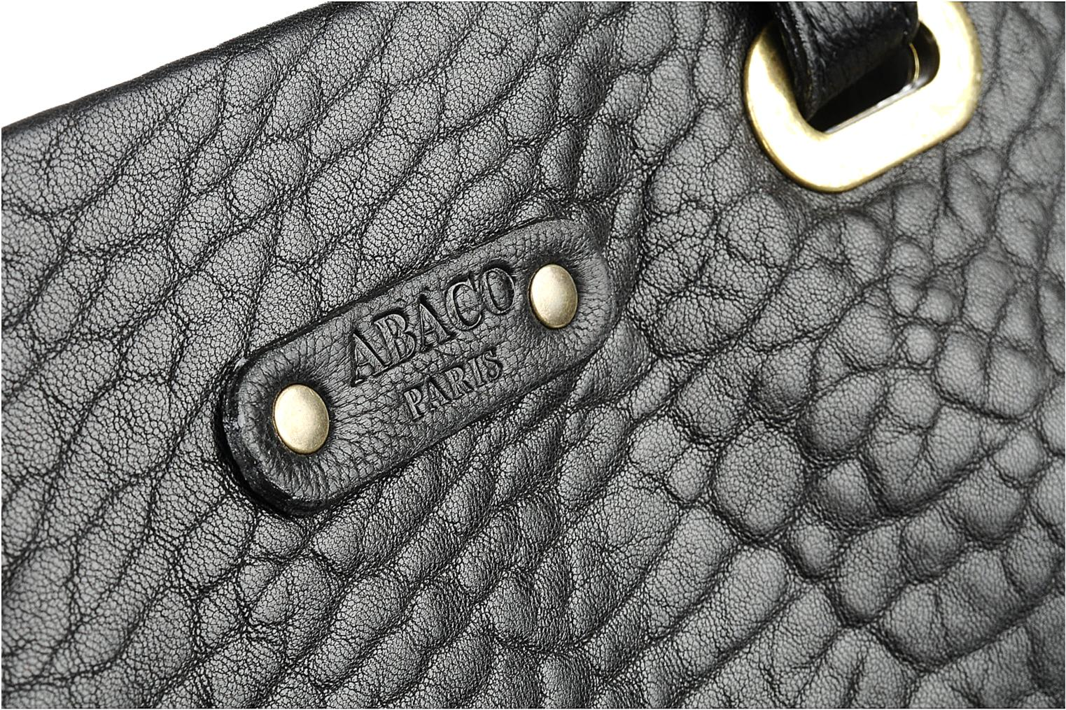 Handbags Abaco Slimy Black view from the left