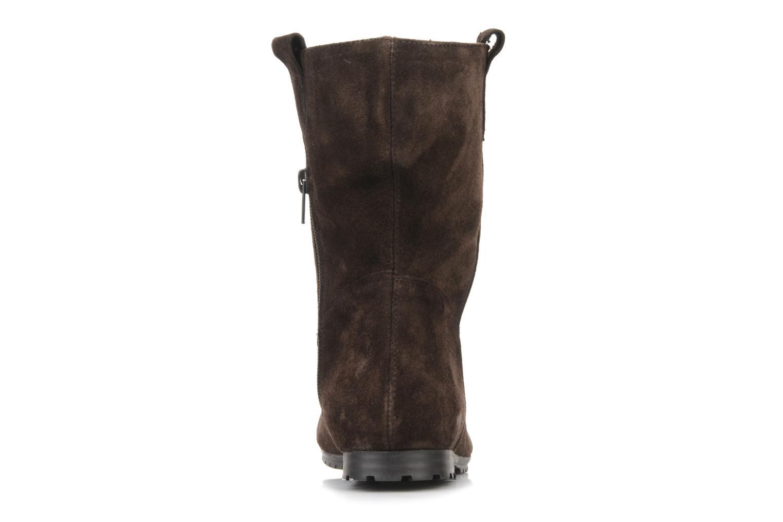 Bottines et boots Acebo's Luigi Marron vue droite