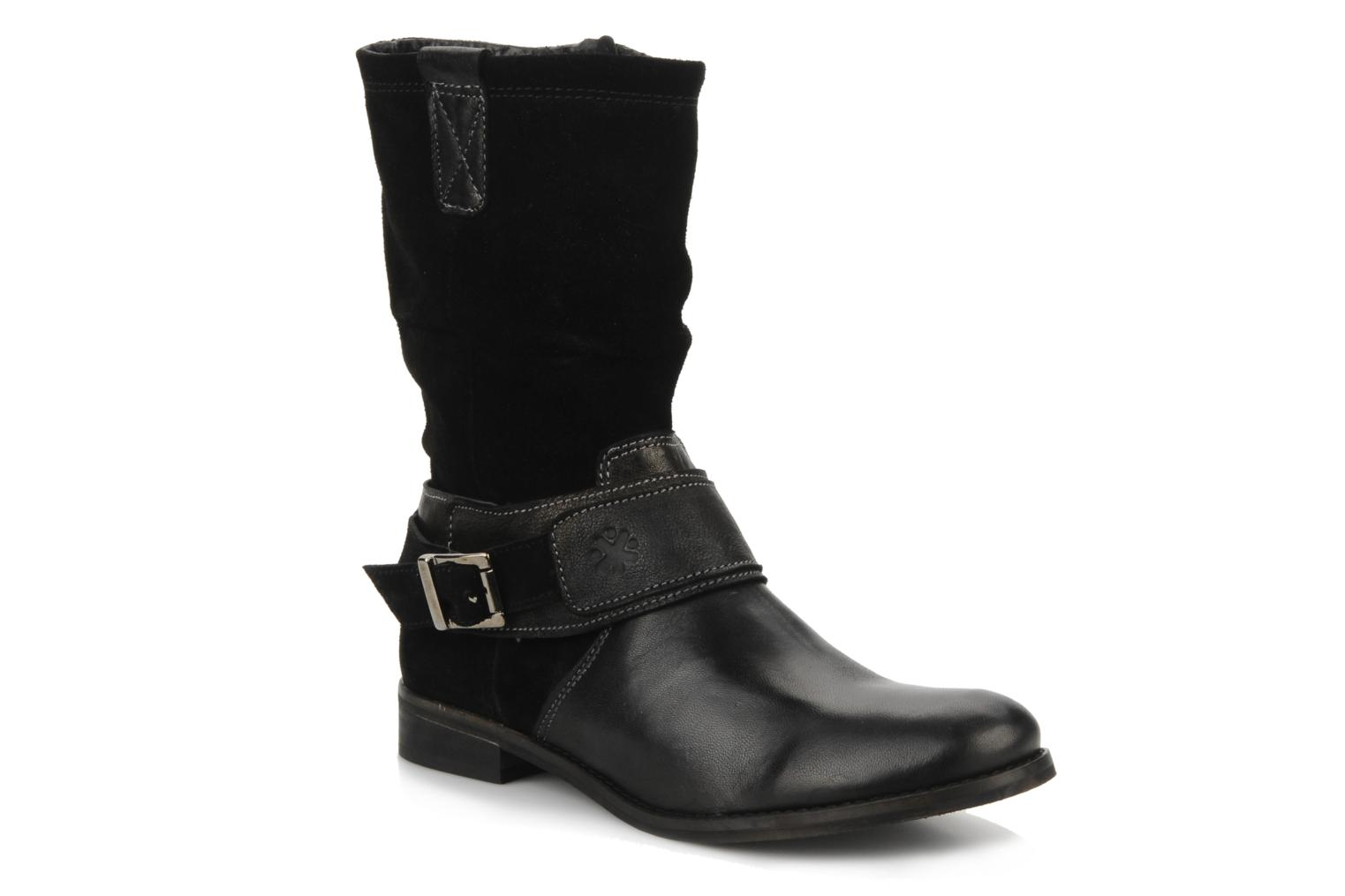 Boots & wellies Acebo's Sergio Black detailed view/ Pair view