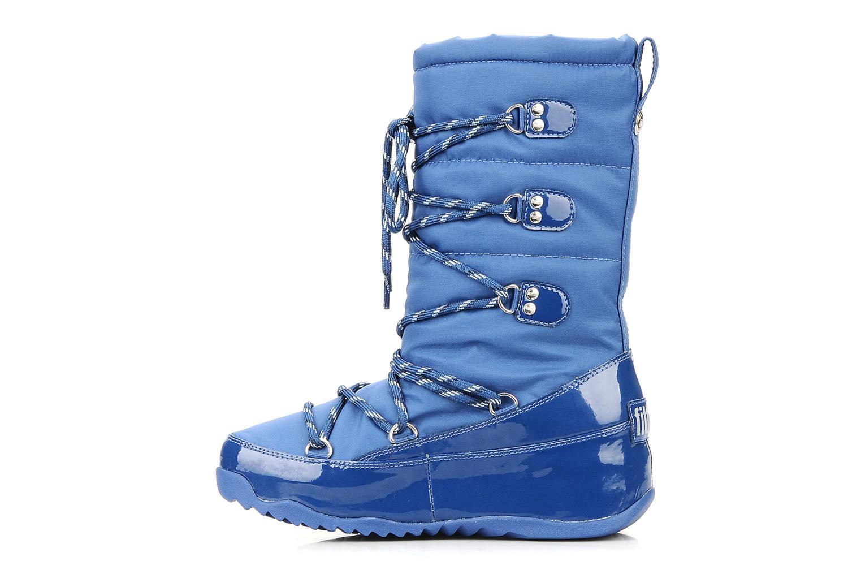 Bottines et boots FitFlop Blizzboot Bleu vue face