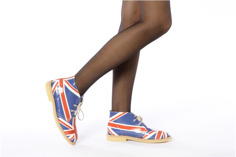 Bottines et boots Coco et abricot Dingl Multicolore vue bas / vue portée sac