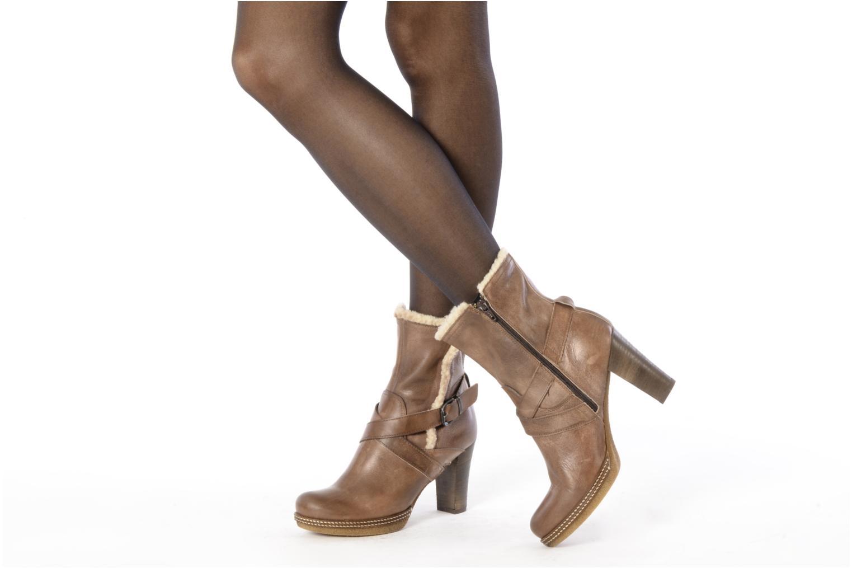 Bottines et boots Coco et abricot Pyxide Marron vue bas / vue portée sac