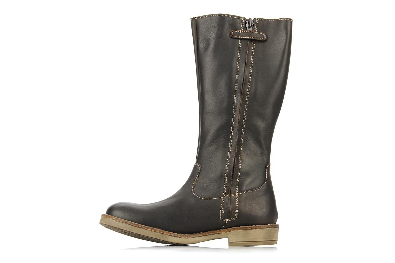 Boots & wellies Noël Folk Brown front view