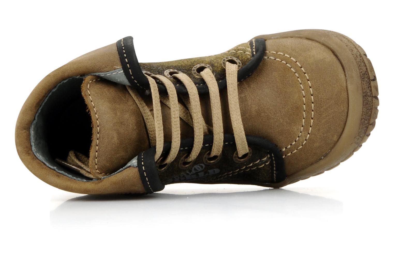 Bottines et boots Noël Mini fizz Marron vue gauche