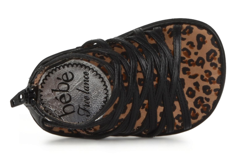 Sandales et nu-pieds Free Lance BB TWILY CAGE SANDAL Noir vue gauche