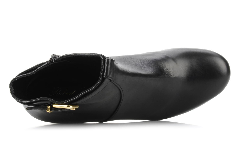 Bottines et boots Clergerie Hut Noir vue gauche