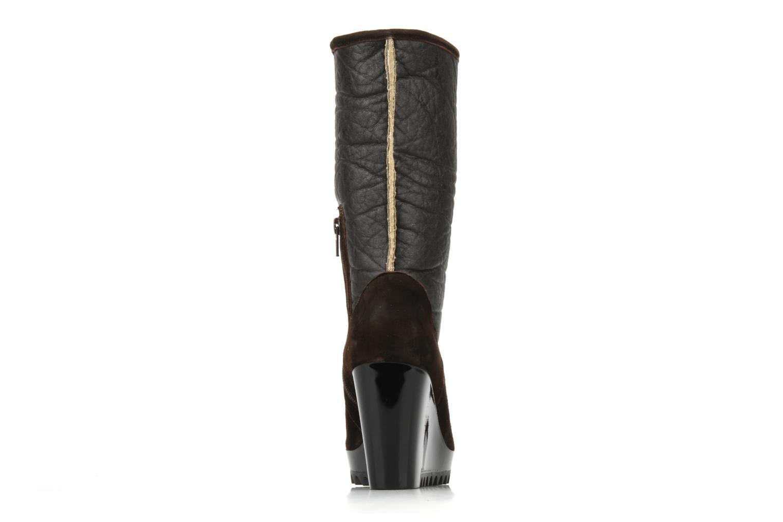 Bottines et boots Espace Caida Marron vue droite